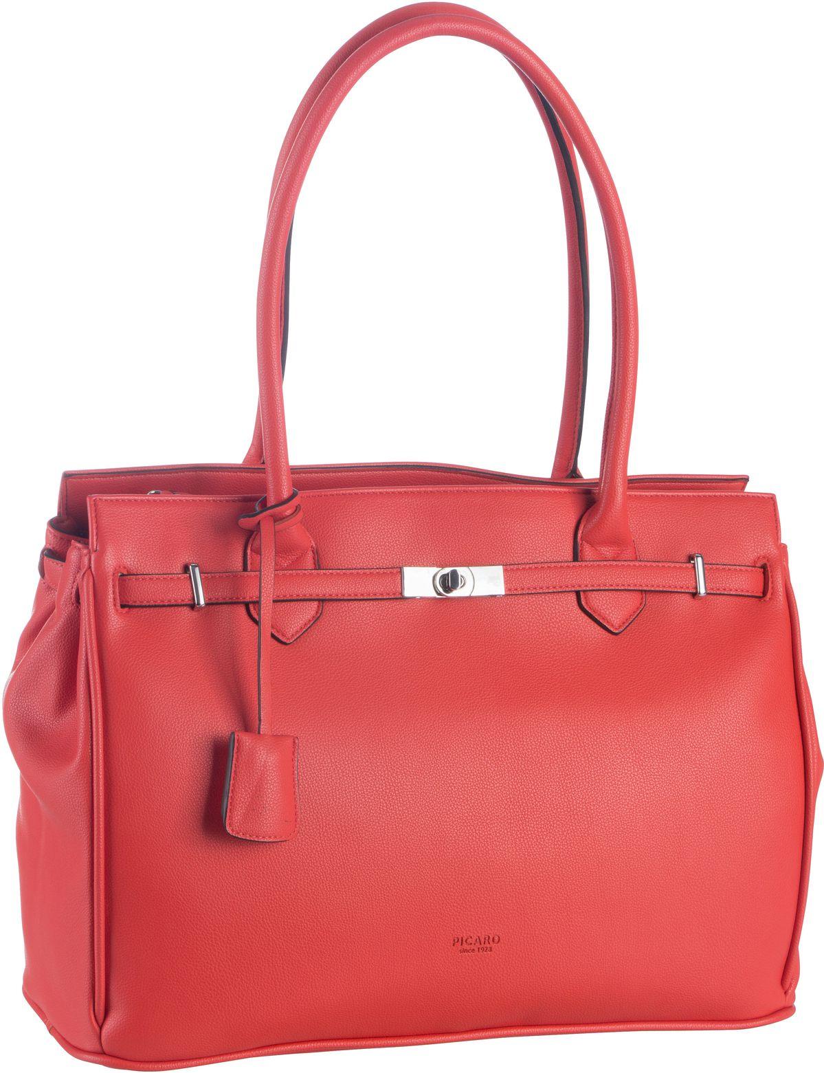 Handtasche New York 9680 Koralle