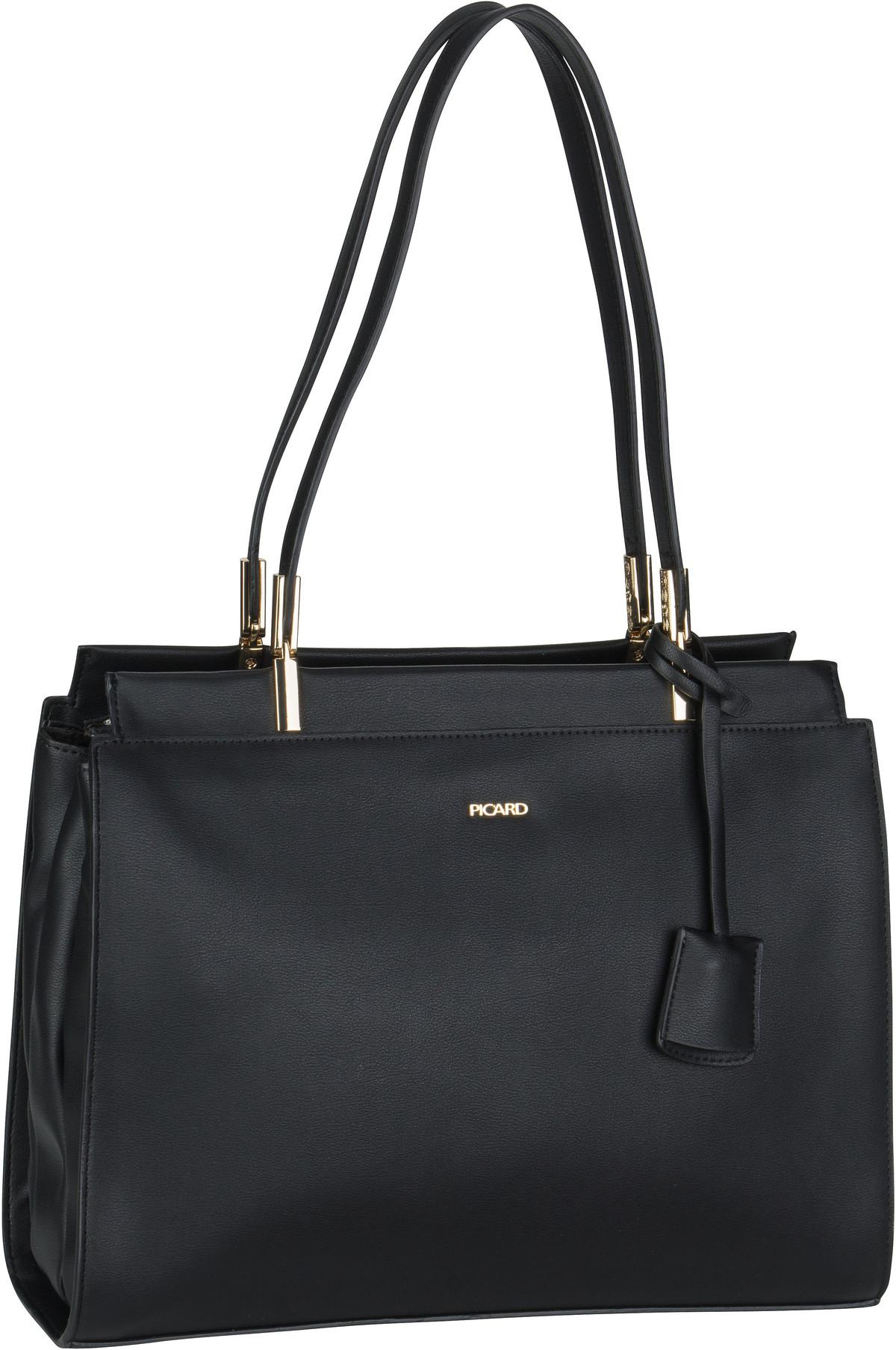 Handtasche Emilion 9681 Schwarz