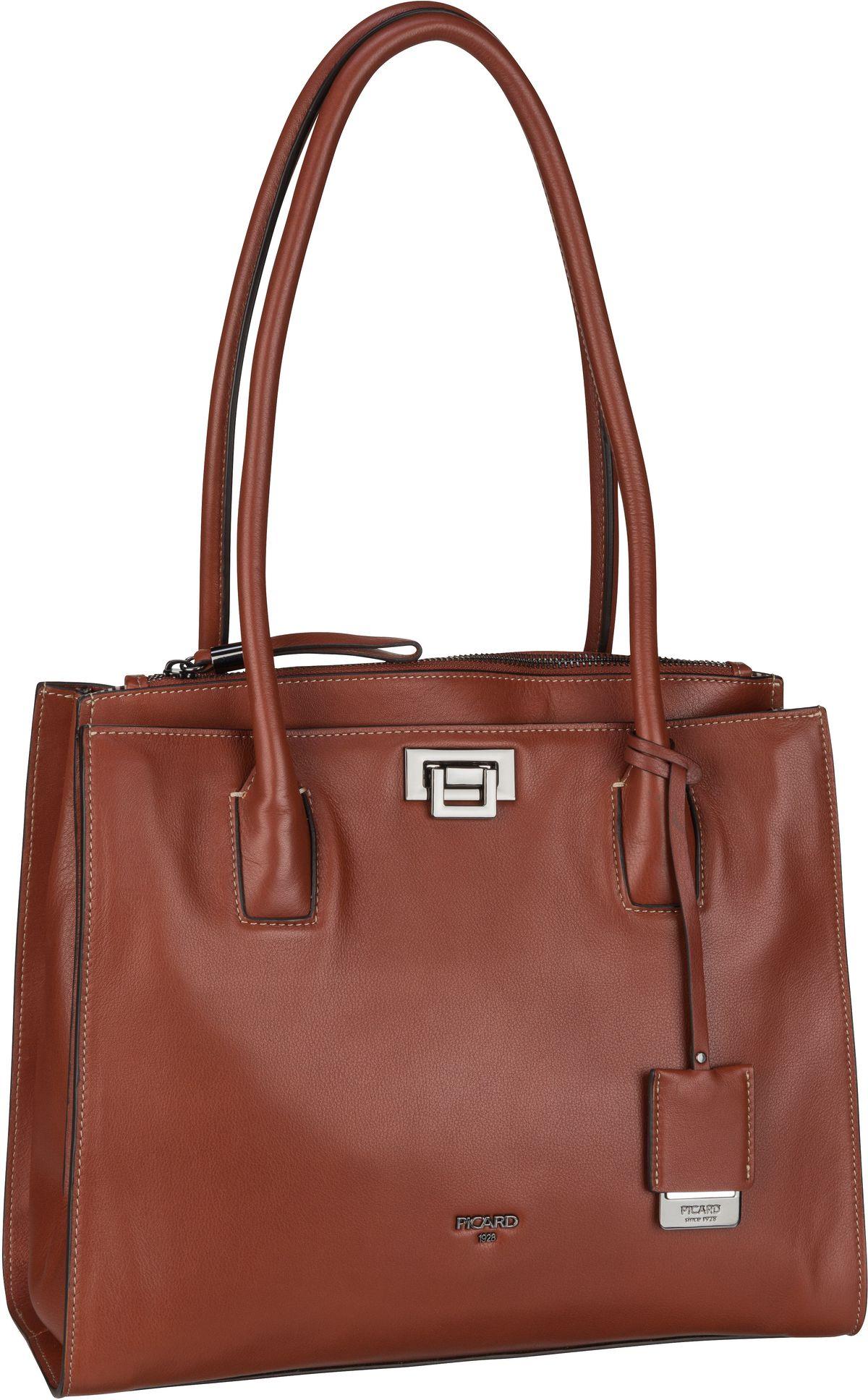 Handtasche Janis 9687 Cognac