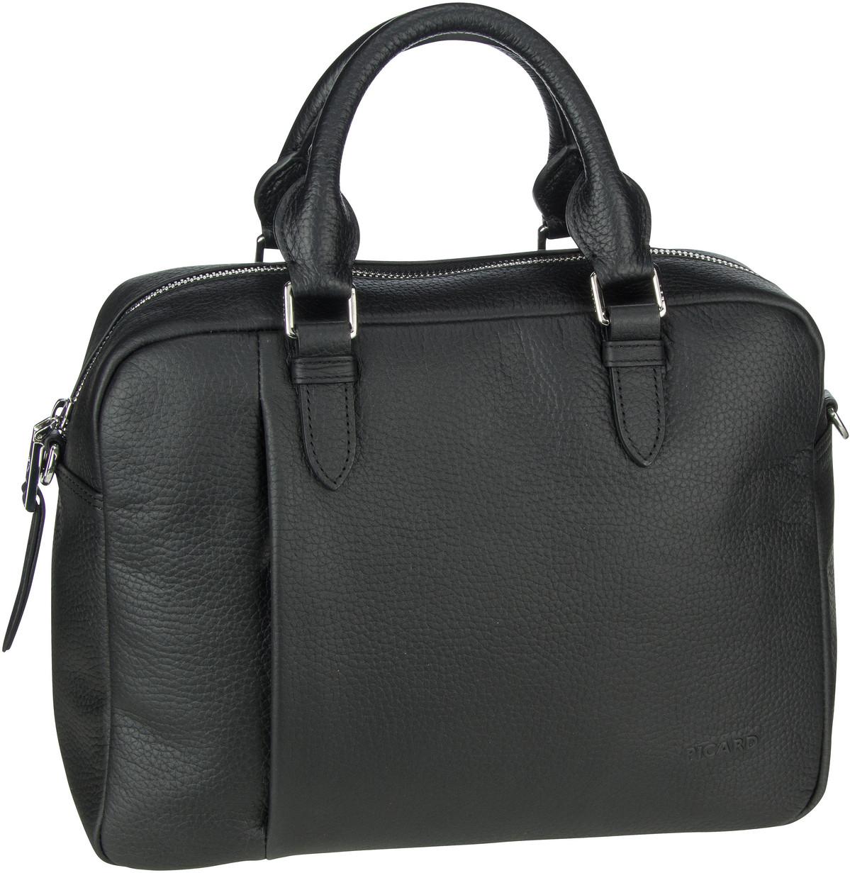 Handtasche Pure 9665 Schwarz