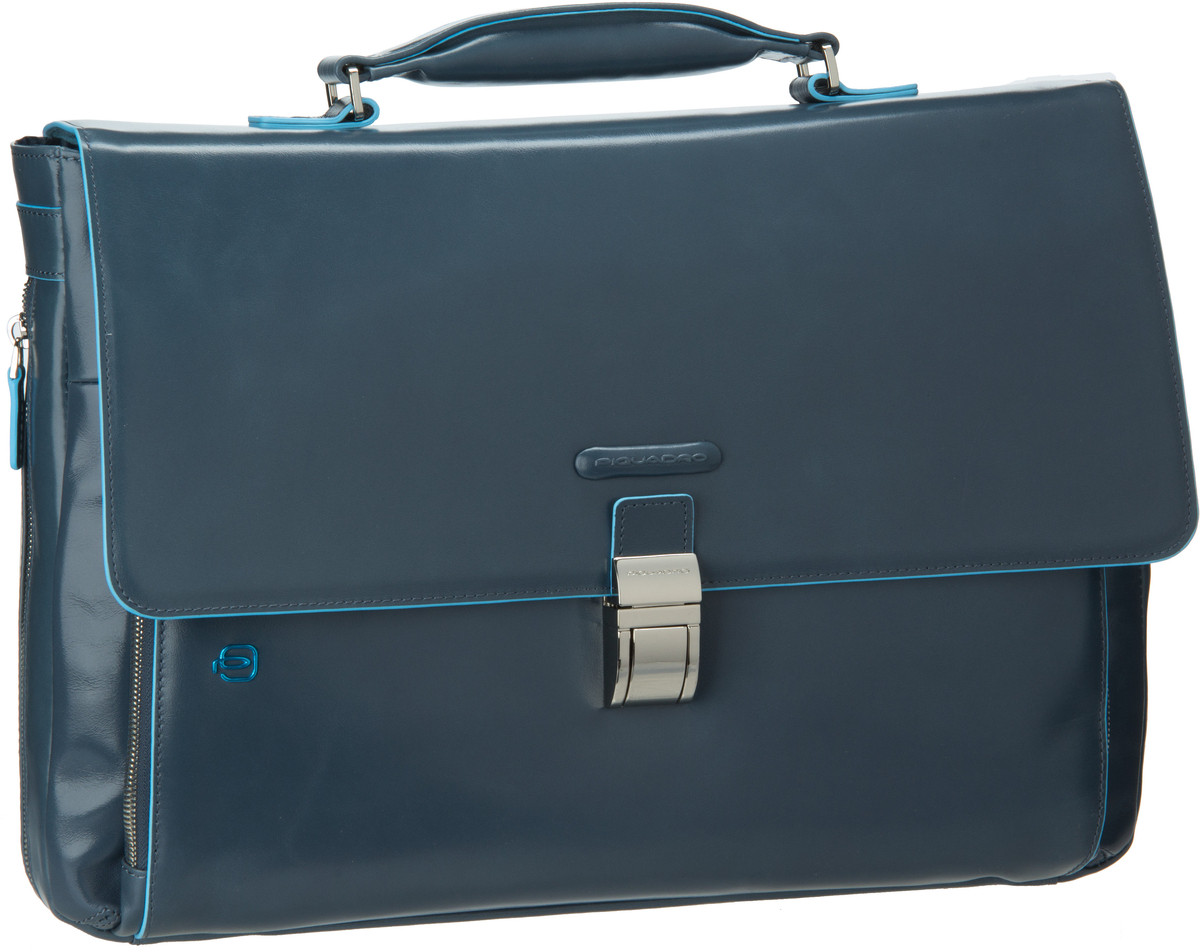 Piquadro Blue Square Laptop Aktentasche Avio - ...