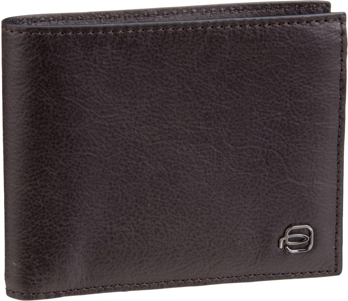 Piquadro Brieftasche Black Square 3891 RFID Testa di moro