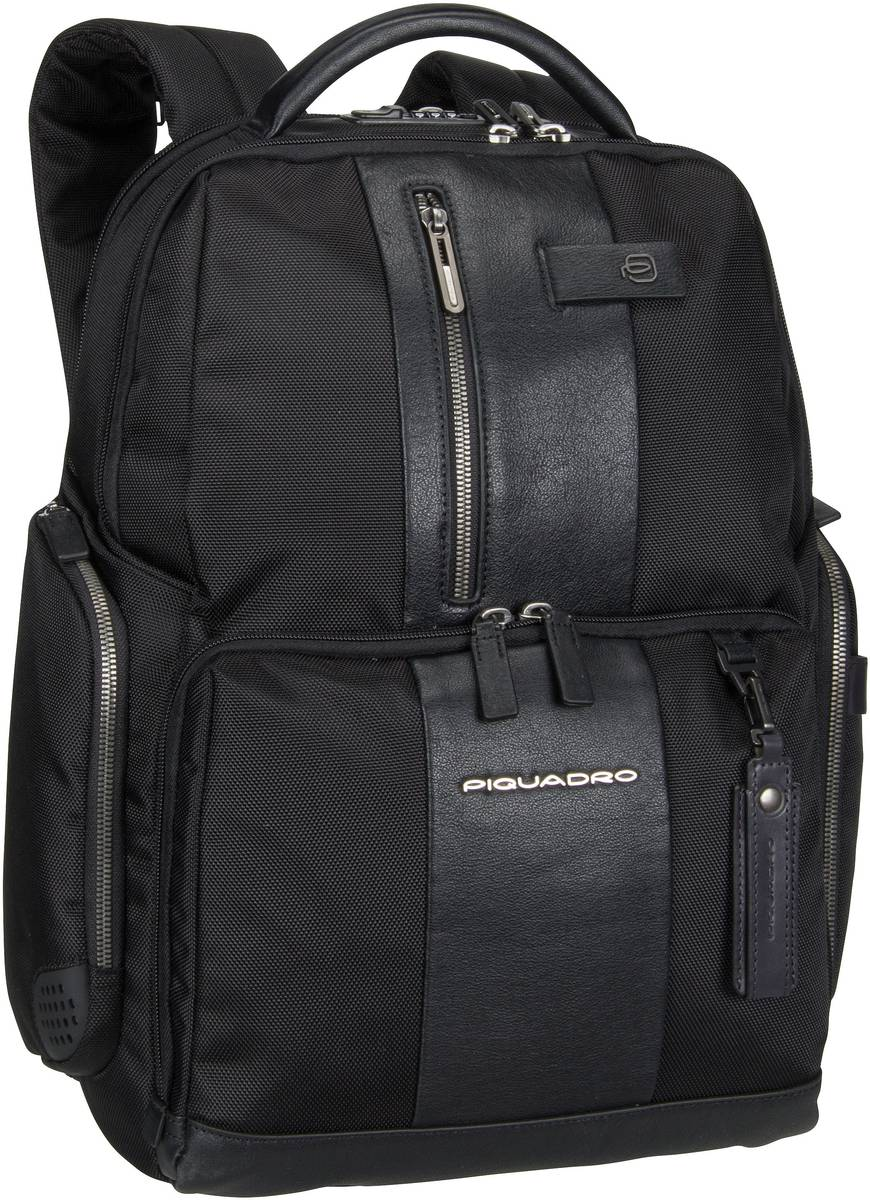 Laptoprucksack Brief 4439 Connequ RFID Nero