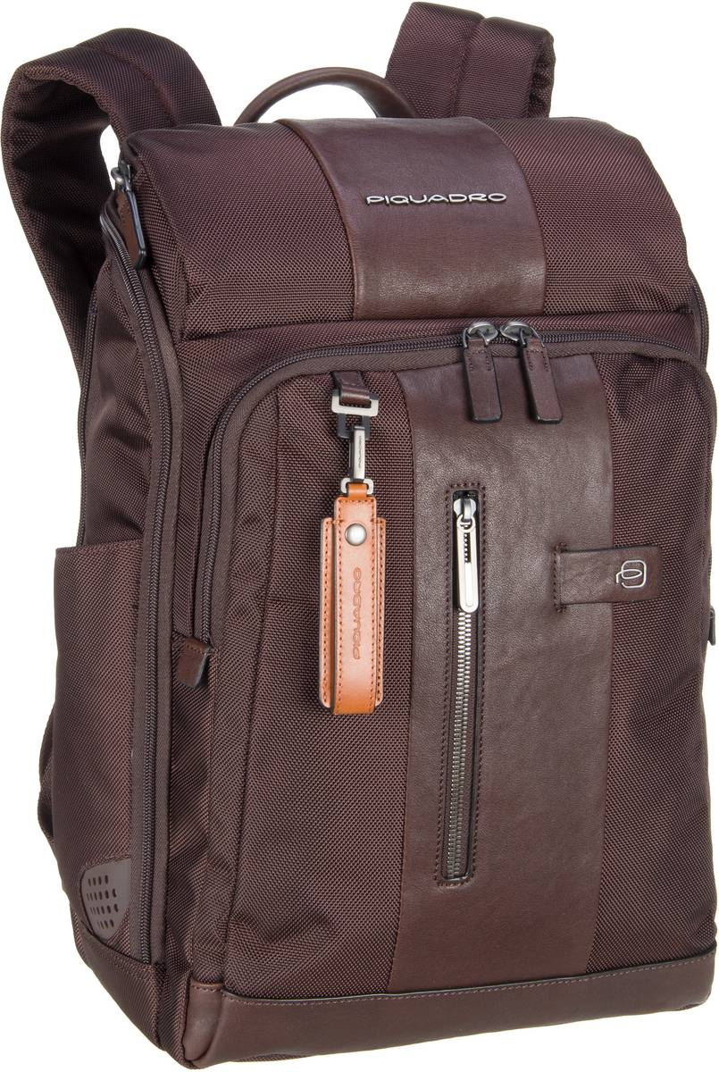 Laptoprucksack Brief 4443 Connequ RFID Testa di moro