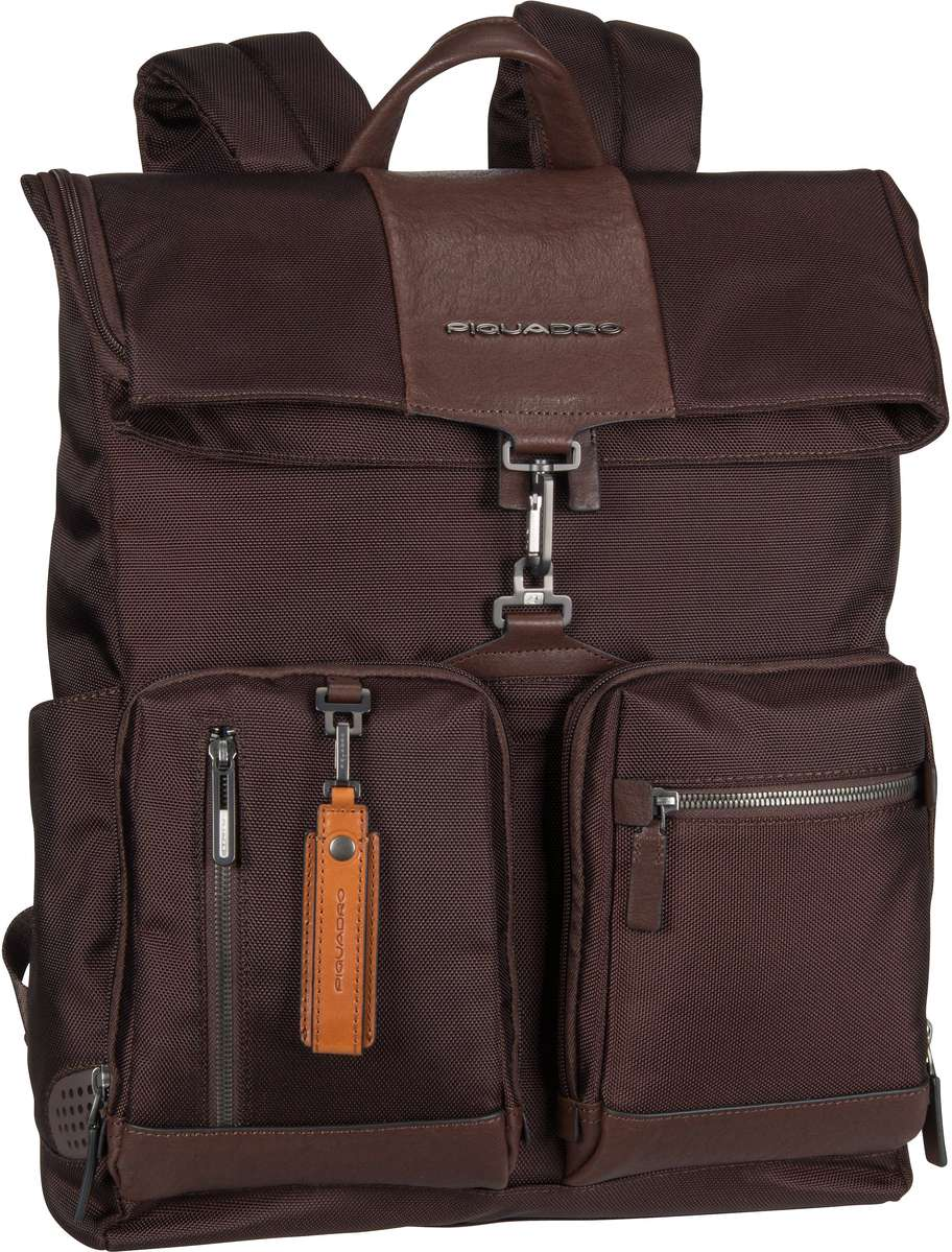 Laptoprucksack Brief 4533 Connequ RFID Testa di moro