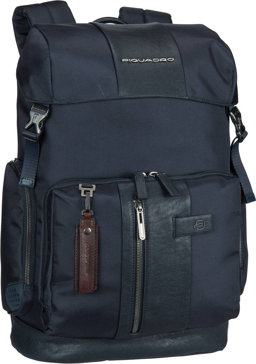 Laptoprucksack Brief 4534 Connequ RFID Blu