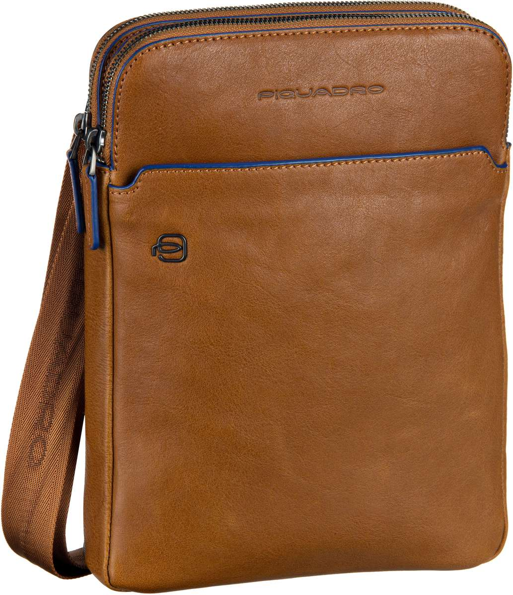 Piquadro Notebooktasche / Tablet B2S Umhängetasche 3978 Cuoio Tabacco