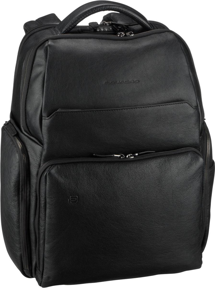 Laptoprucksack Black Square 4439 Connequ RFID Nero