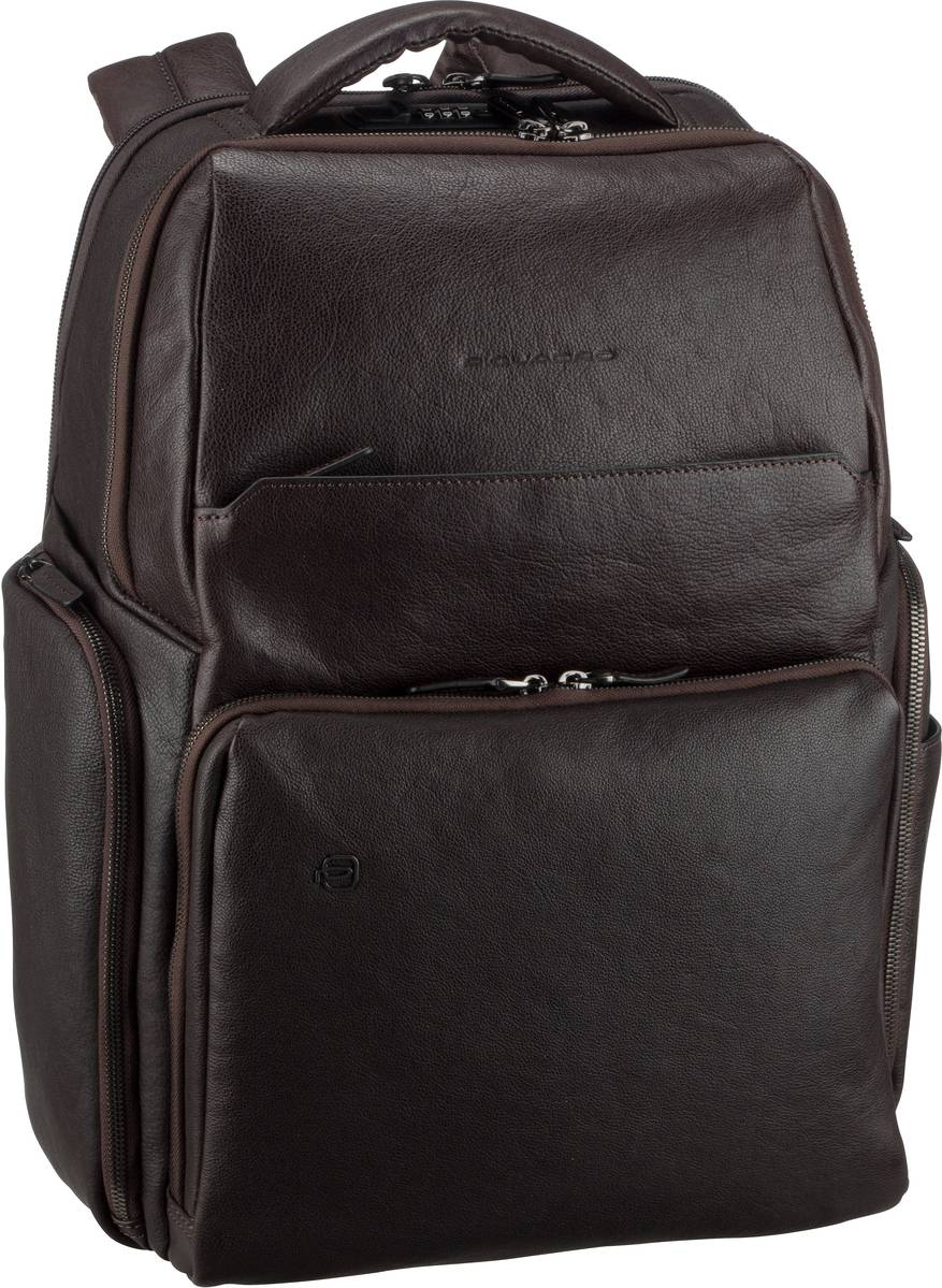 Laptoprucksack Black Square 4439 Connequ RFID Testa di moro