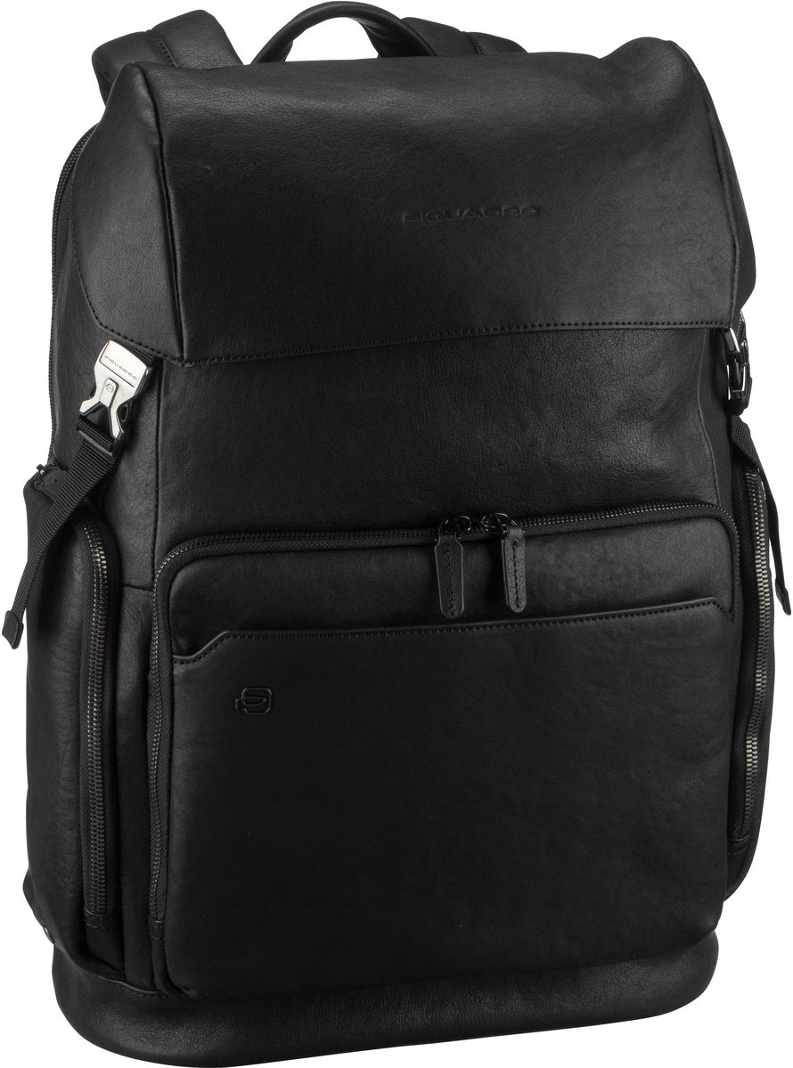 Piquadro Laptoprucksack Black Square 4534 Nero