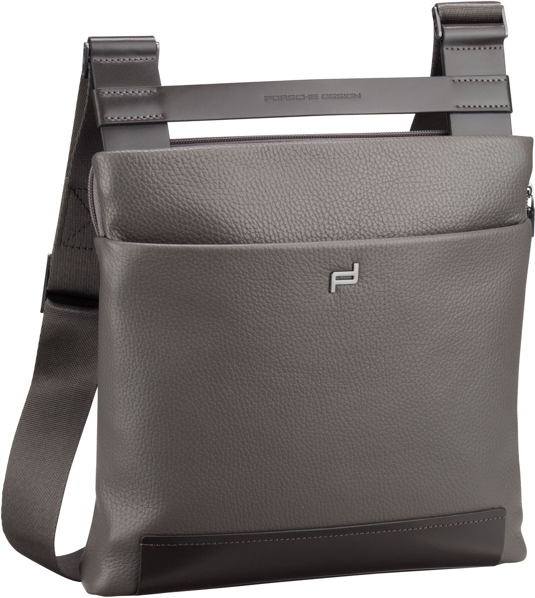 Umhängetasche Shyrt 2.0 Leather ShoulderBag XSVZ Grey