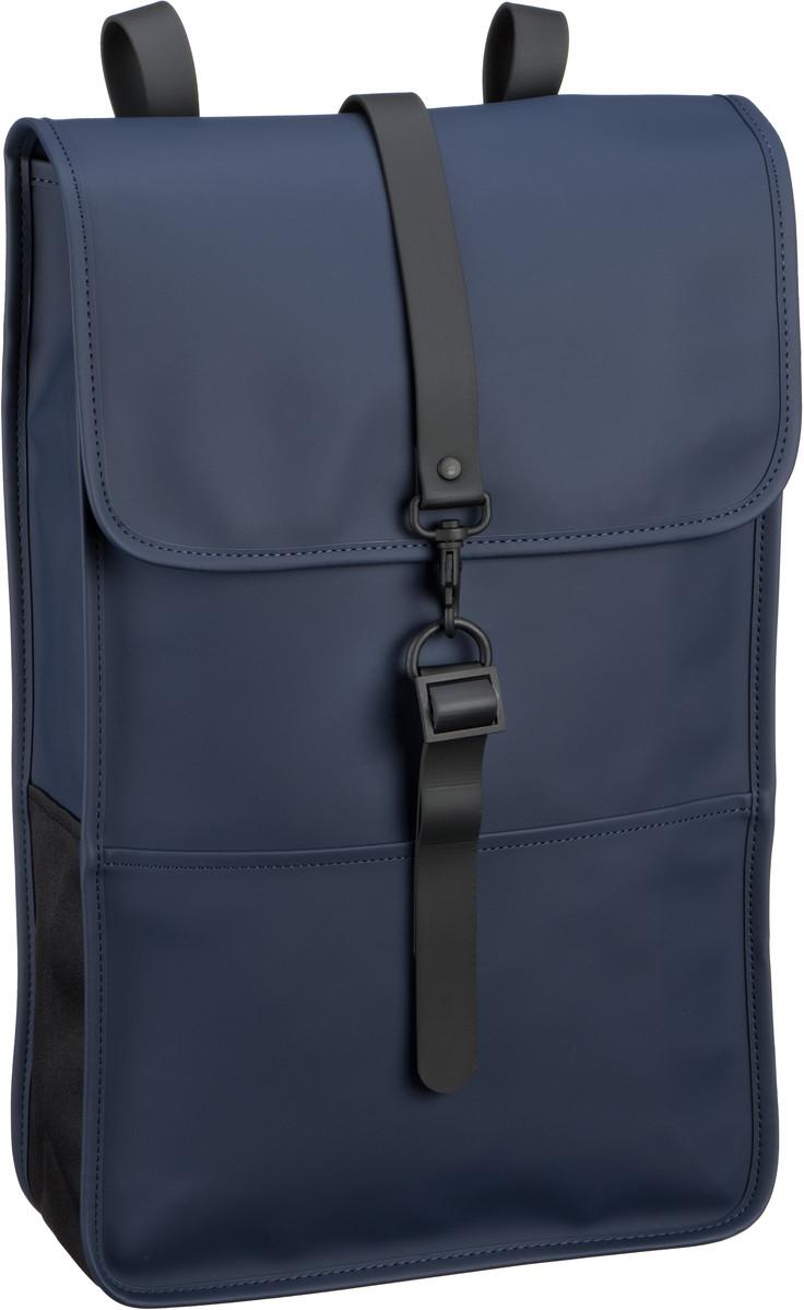 Rains Backpack Blue - Laptoprucksack