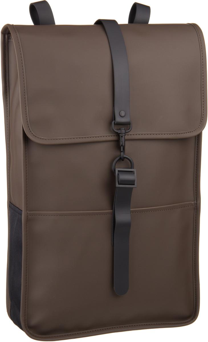 Rains Backpack Brown - Laptoprucksack
