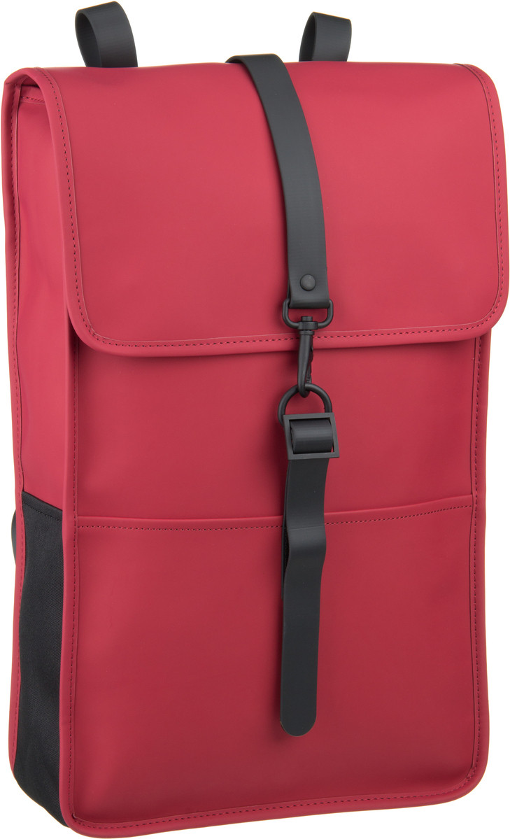 Rains Backpack Scarlet - Laptoprucksack