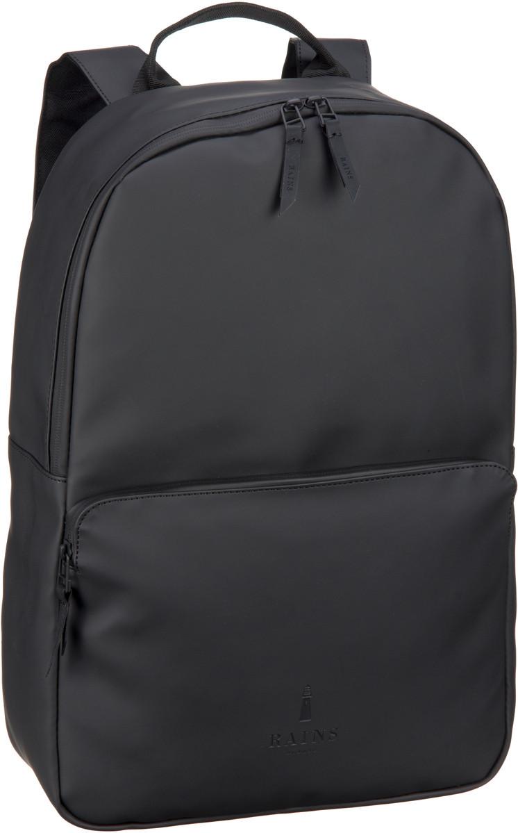 Rains Laptoprucksack Field Bag Black (12 Liter)