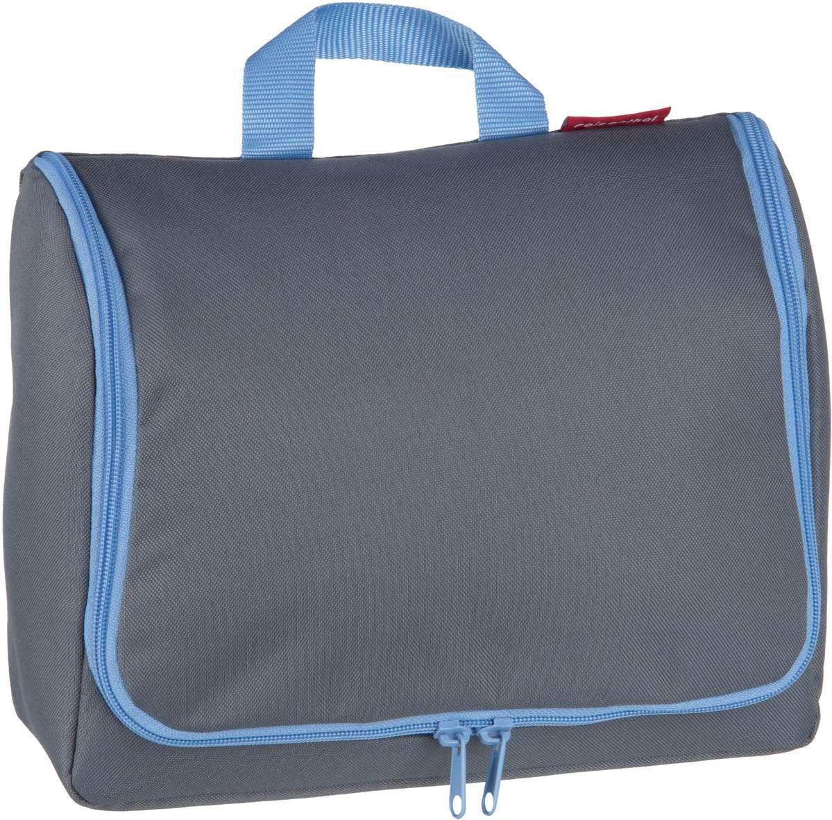 Reisegepaeck für Frauen - reisenthel Kulturbeutel Beauty Case toiletbag XL Basalt (4 Liter)  - Onlineshop Taschenkaufhaus