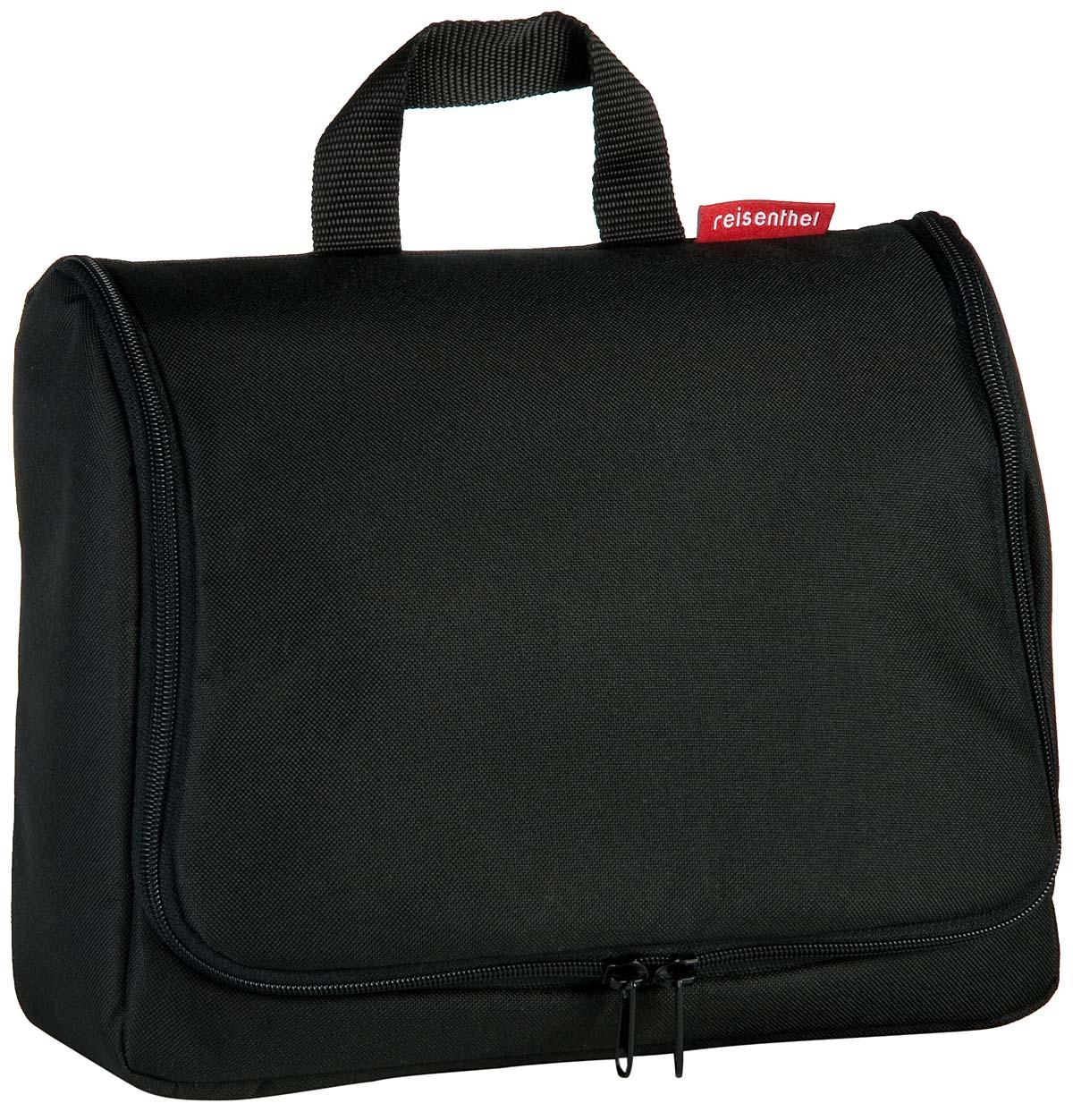 toiletbag XL Black (innen: Schwarz)
