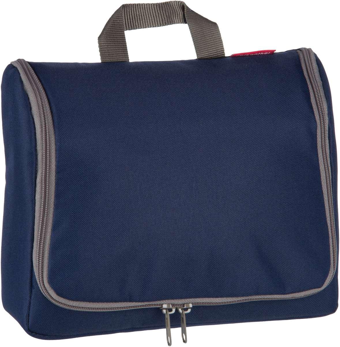 Reisegepaeck für Frauen - reisenthel Kulturbeutel Beauty Case toiletbag XL Dark Blue (4 Liter)  - Onlineshop Taschenkaufhaus