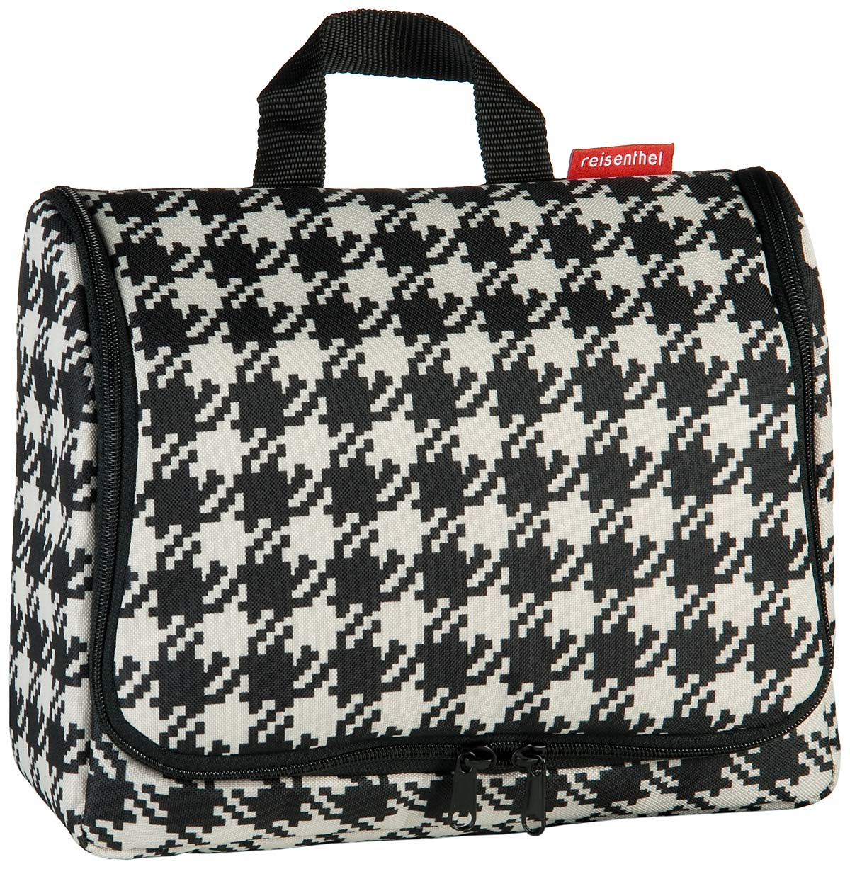 Reisegepaeck für Frauen - reisenthel Kulturbeutel Beauty Case toiletbag XL Fifties Black (4 Liter)  - Onlineshop Taschenkaufhaus