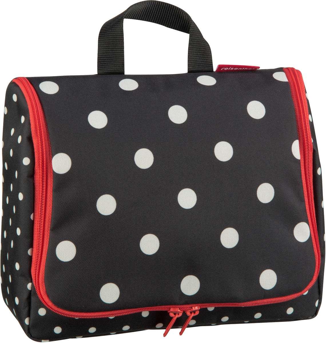 Reisegepaeck für Frauen - reisenthel Kulturbeutel Beauty Case toiletbag XL Mixed Dots (4 Liter)  - Onlineshop Taschenkaufhaus