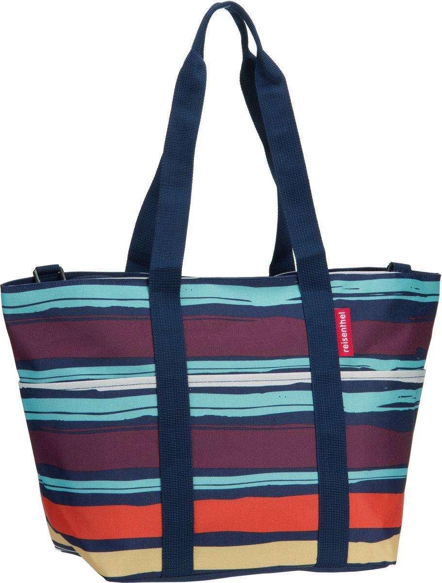 Shopper für Frauen - reisenthel Einkaufstasche multibag Artist Stripes (15 Liter)  - Onlineshop Taschenkaufhaus