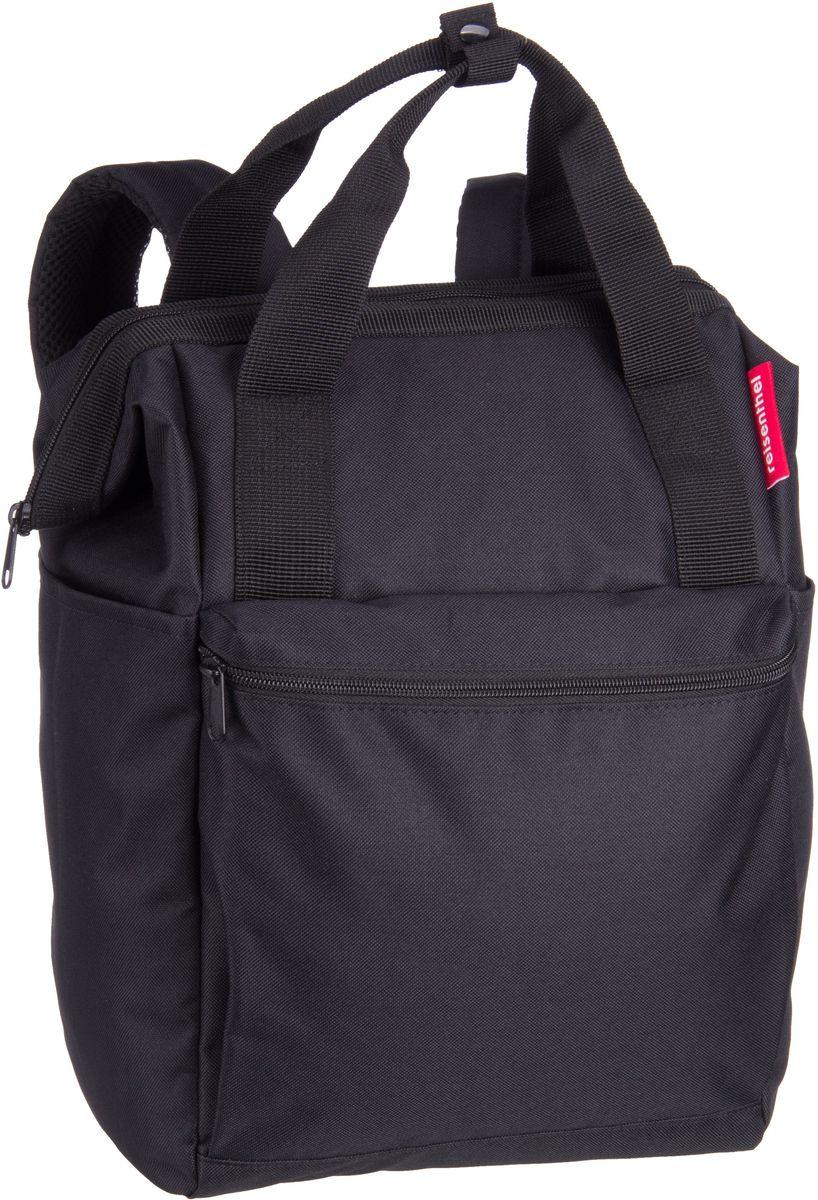Rucksaecke - reisenthel Rucksack Daypack allrounder R Black (12 Liter)  - Onlineshop Taschenkaufhaus