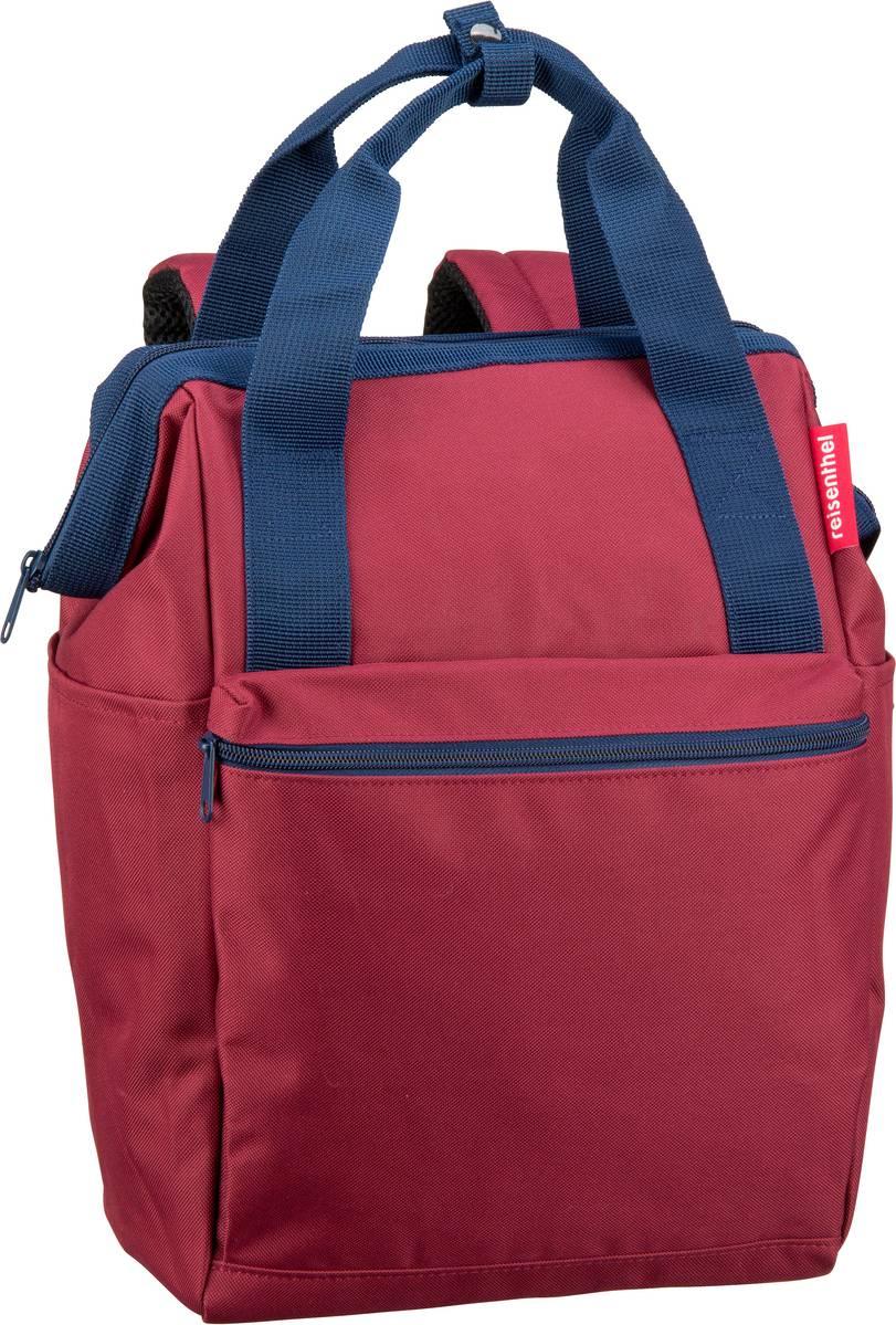 Rucksaecke - reisenthel Rucksack Daypack allrounder R Dark Ruby (12 Liter)  - Onlineshop Taschenkaufhaus