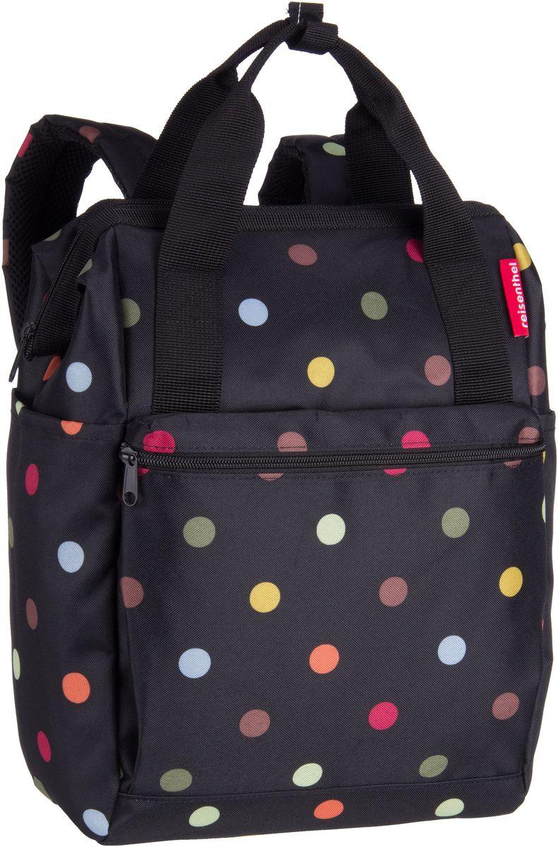 Rucksaecke für Frauen - reisenthel Rucksack Daypack allrounder R Dots (12 Liter)  - Onlineshop Taschenkaufhaus