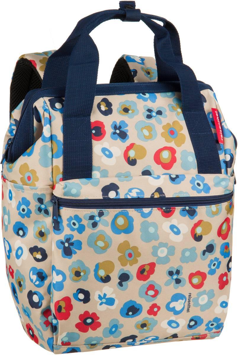 Rucksaecke für Frauen - reisenthel Rucksack Daypack allrounder R Millefleurs (12 Liter)  - Onlineshop Taschenkaufhaus