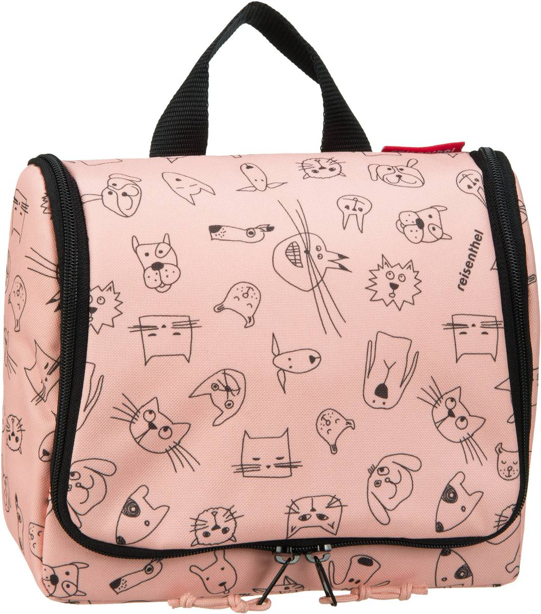 kids toiletbag Cats and Dogs Rose