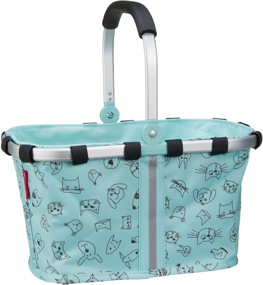 kids carrybag XS Cats and Dogs Mint