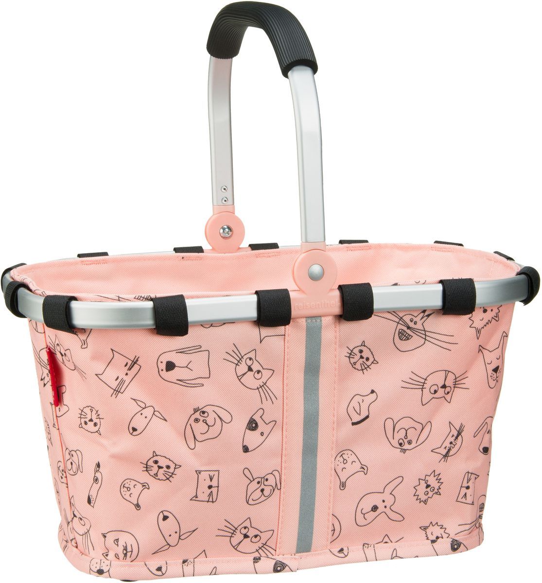 kids carrybag XS Cats and Dogs Rose