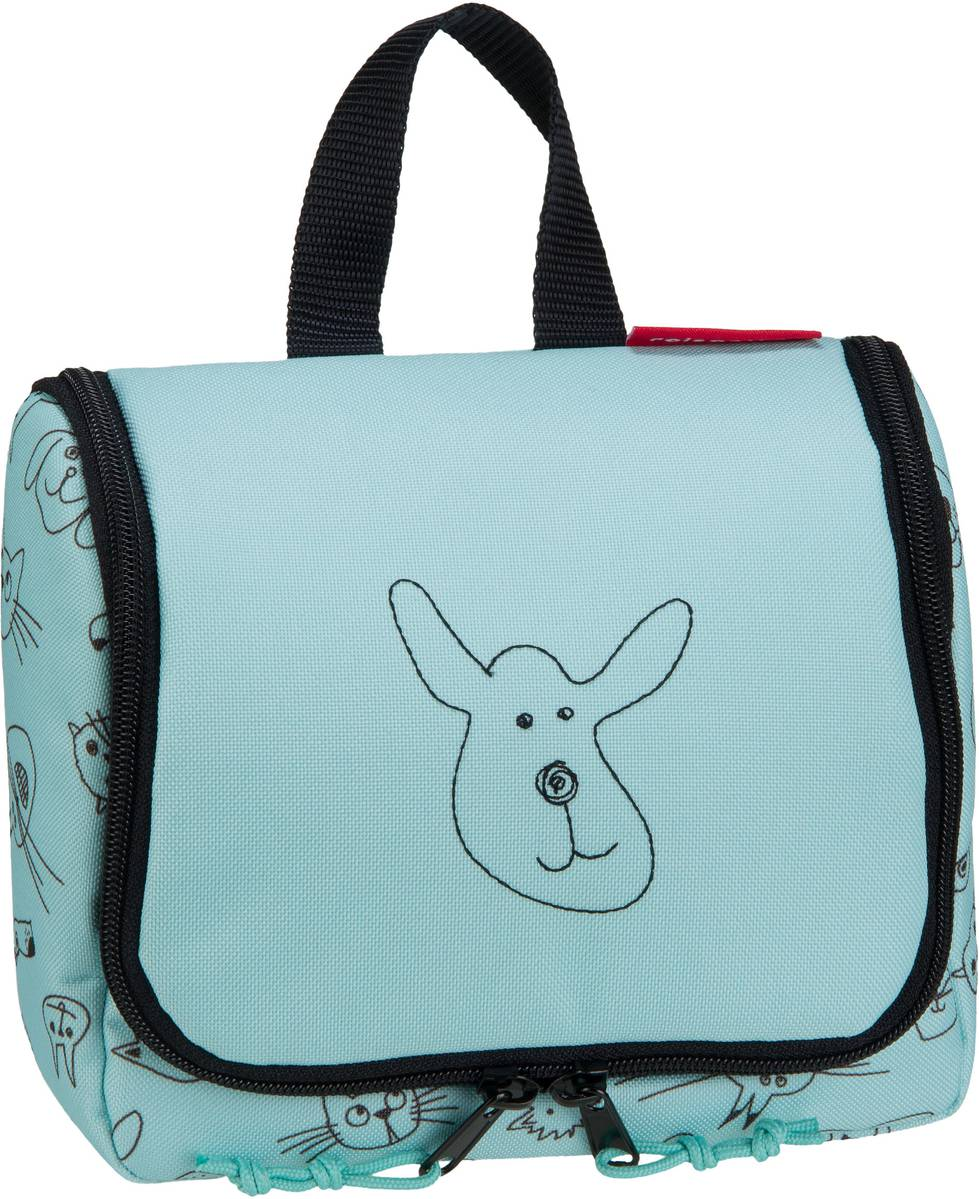 kids toiletbag S Cats and Dogs Mint