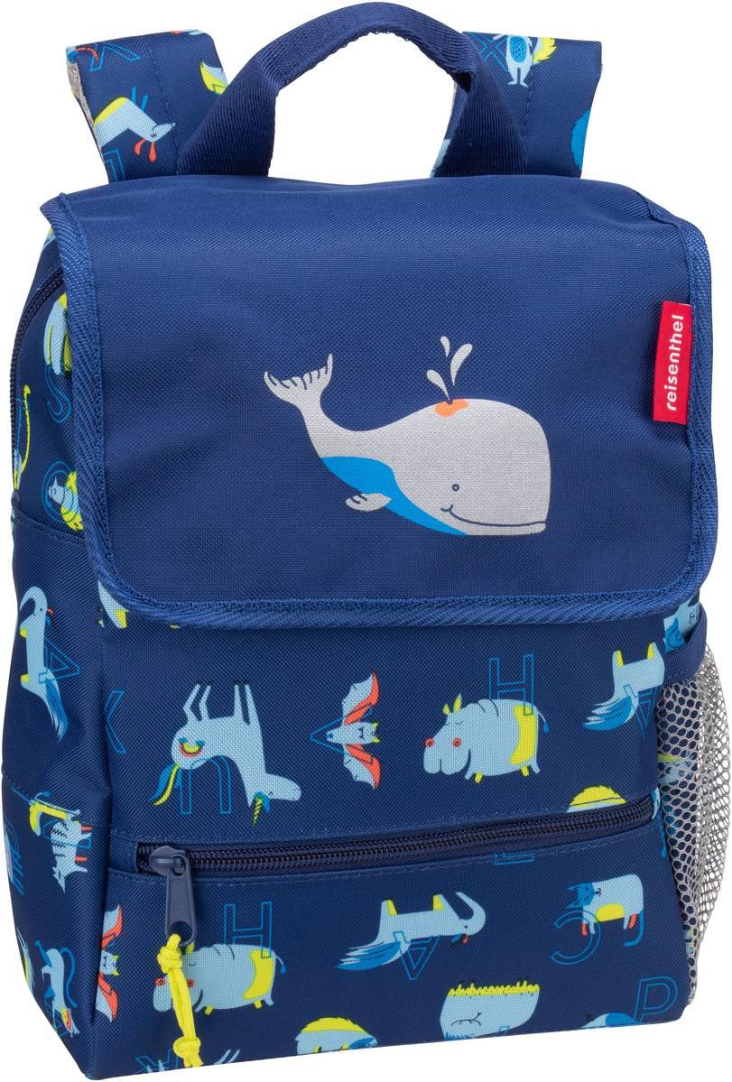 Rucksack / Daypack kids backpack ABC Friends Blue (5 Liter)