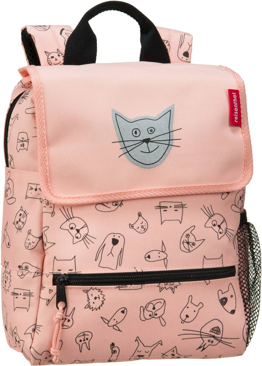 Rucksack / Daypack kids backpack Cats and Dogs Rose (5 Liter)