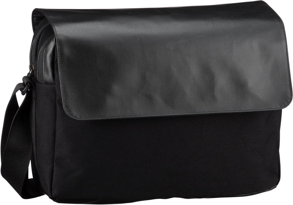 reisenthel Umhängetasche courierbag 2 canvas Black (10 Liter)