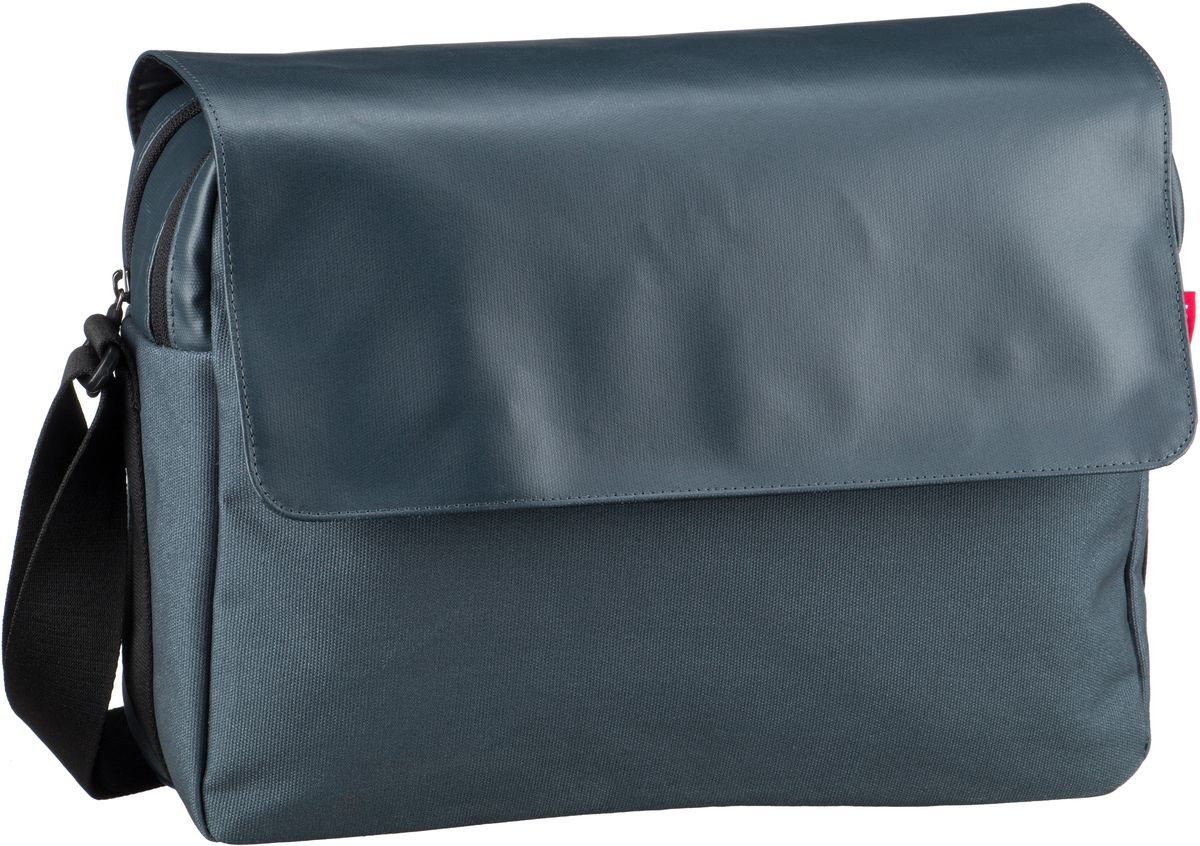 reisenthel Umhängetasche courierbag 2 canvas Blue (10 Liter)