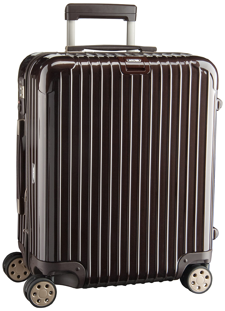 rimowa salsa deluxe cabin multiwheel trolley 56 braun glanz preisvergleich koffer trolley. Black Bedroom Furniture Sets. Home Design Ideas