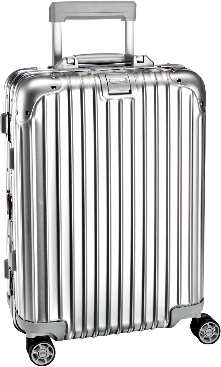 rimowa topas cabin multiwheel trolley iata silber trolley. Black Bedroom Furniture Sets. Home Design Ideas