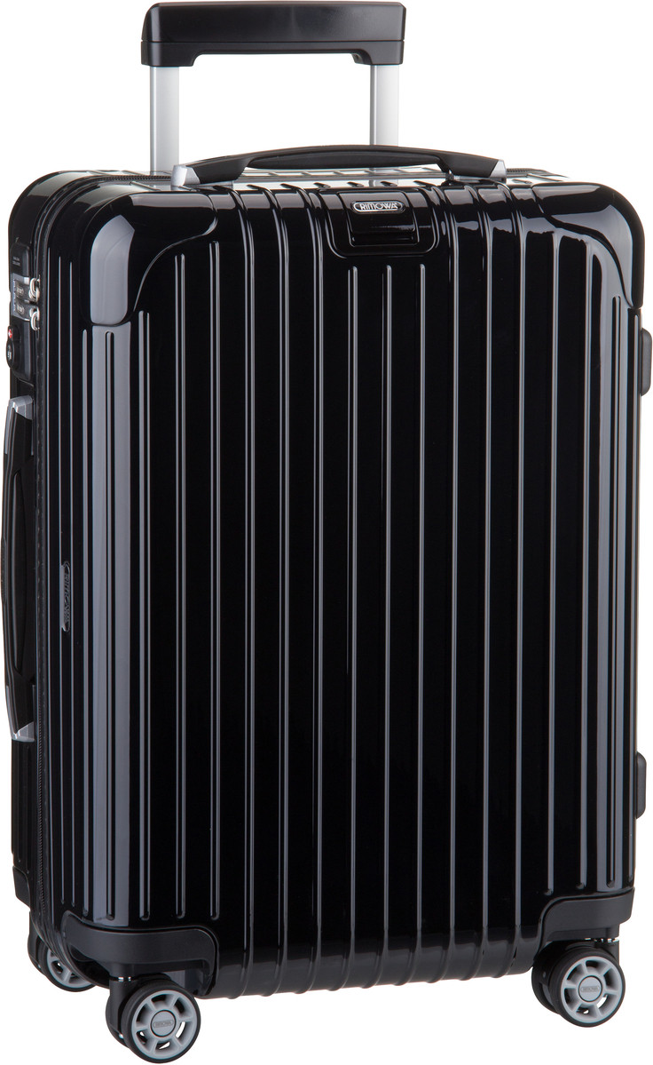 rimowa salsa deluxe cabin multiwheel trolley iata 55 lufthansa size schwarz trolley koffer. Black Bedroom Furniture Sets. Home Design Ideas