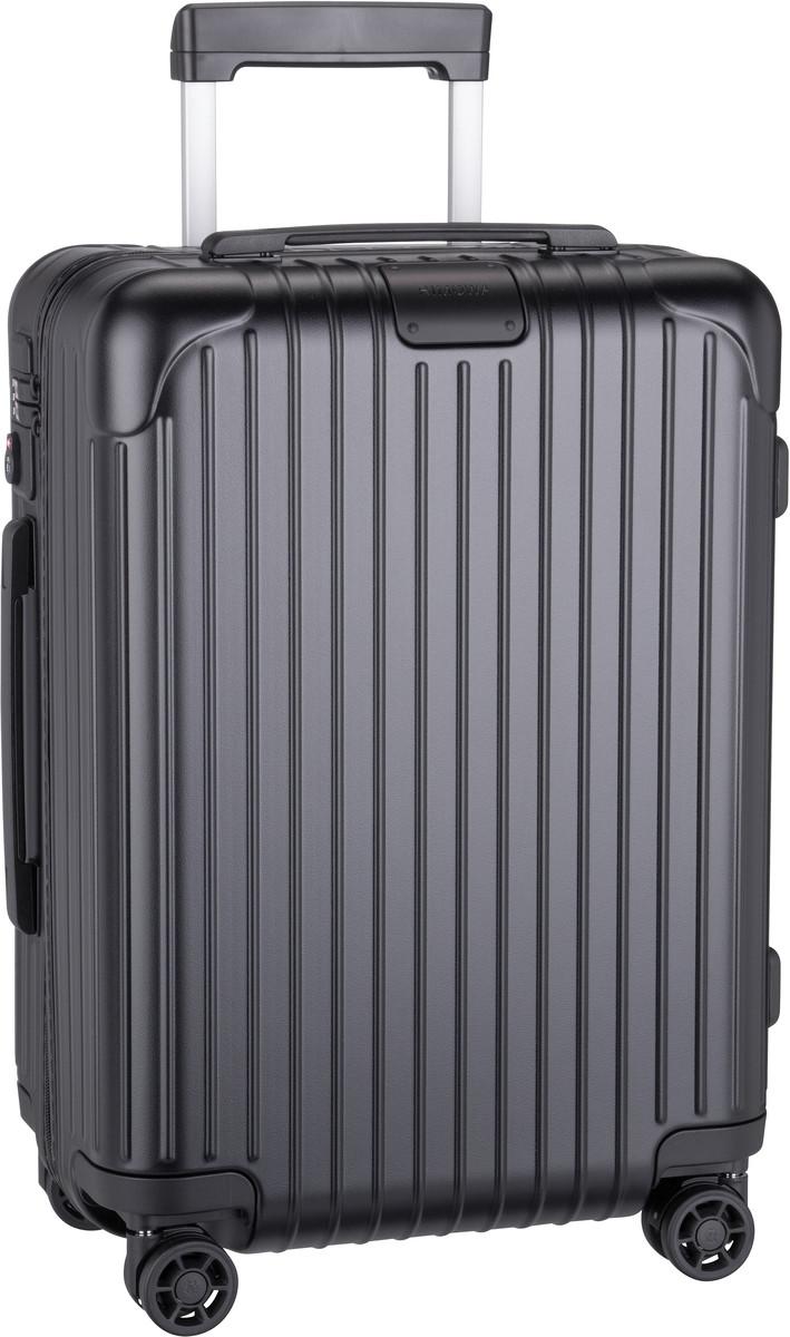 Reisegepaeck für Frauen - Rimowa Trolley Koffer Essential Cabin Matte Black (36 Liter)  - Onlineshop Taschenkaufhaus