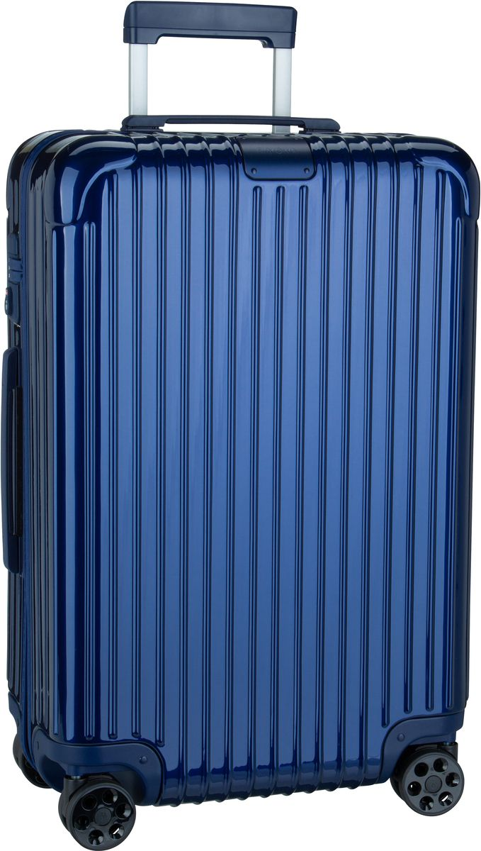 Rimowa Trolley + Koffer Essential Check-In M Blue Gloss (60 Liter)