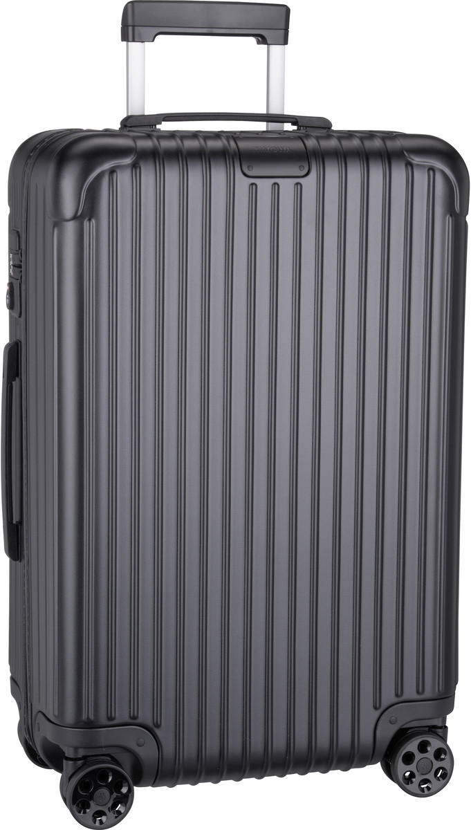 Rimowa Trolley + Koffer Essential Check-In M Matte Black (60 Liter)