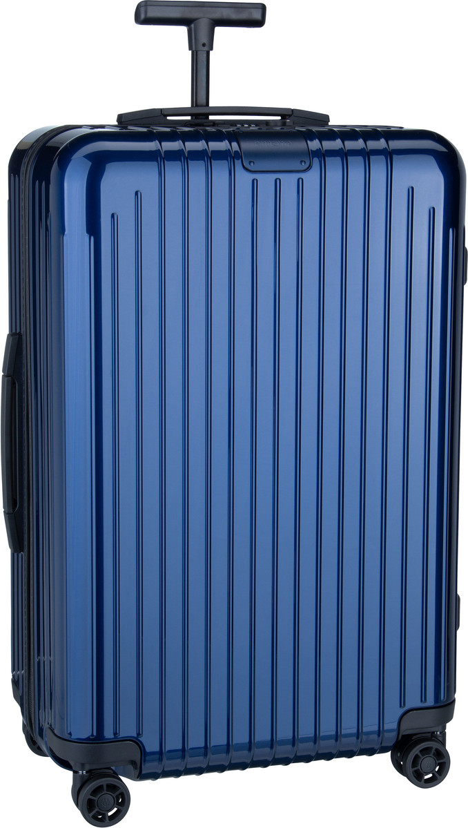 Rimowa Trolley + Koffer Essential Lite Check-In M Blue Gloss (59 Liter)