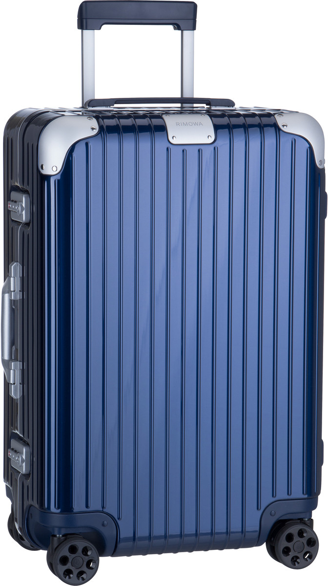 Rimowa Trolley + Koffer Hybrid Check-In M Blue Gloss (62 Liter)