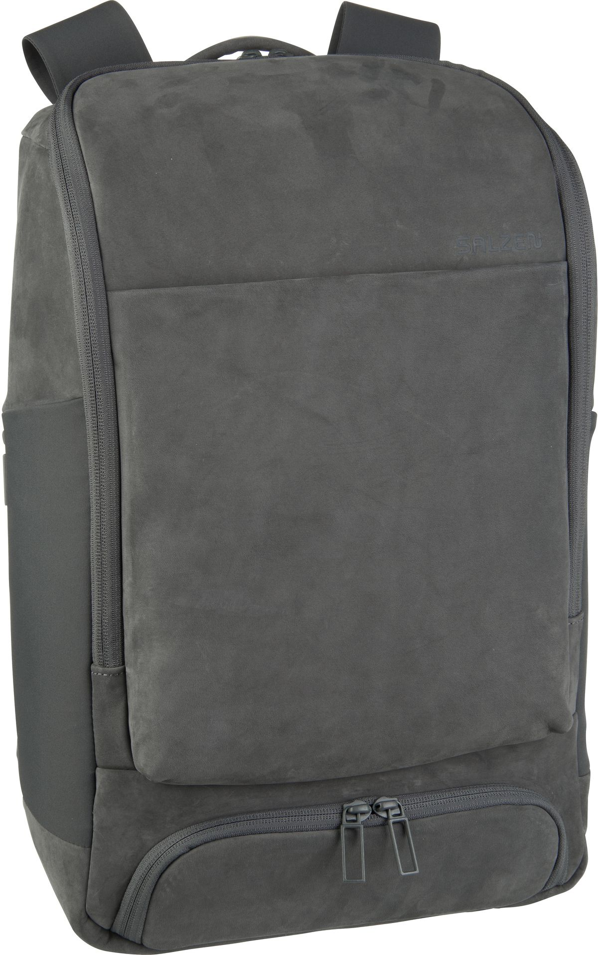 Laptoprucksack Alpha Backpack Leather Slate Grey (17 Liter)