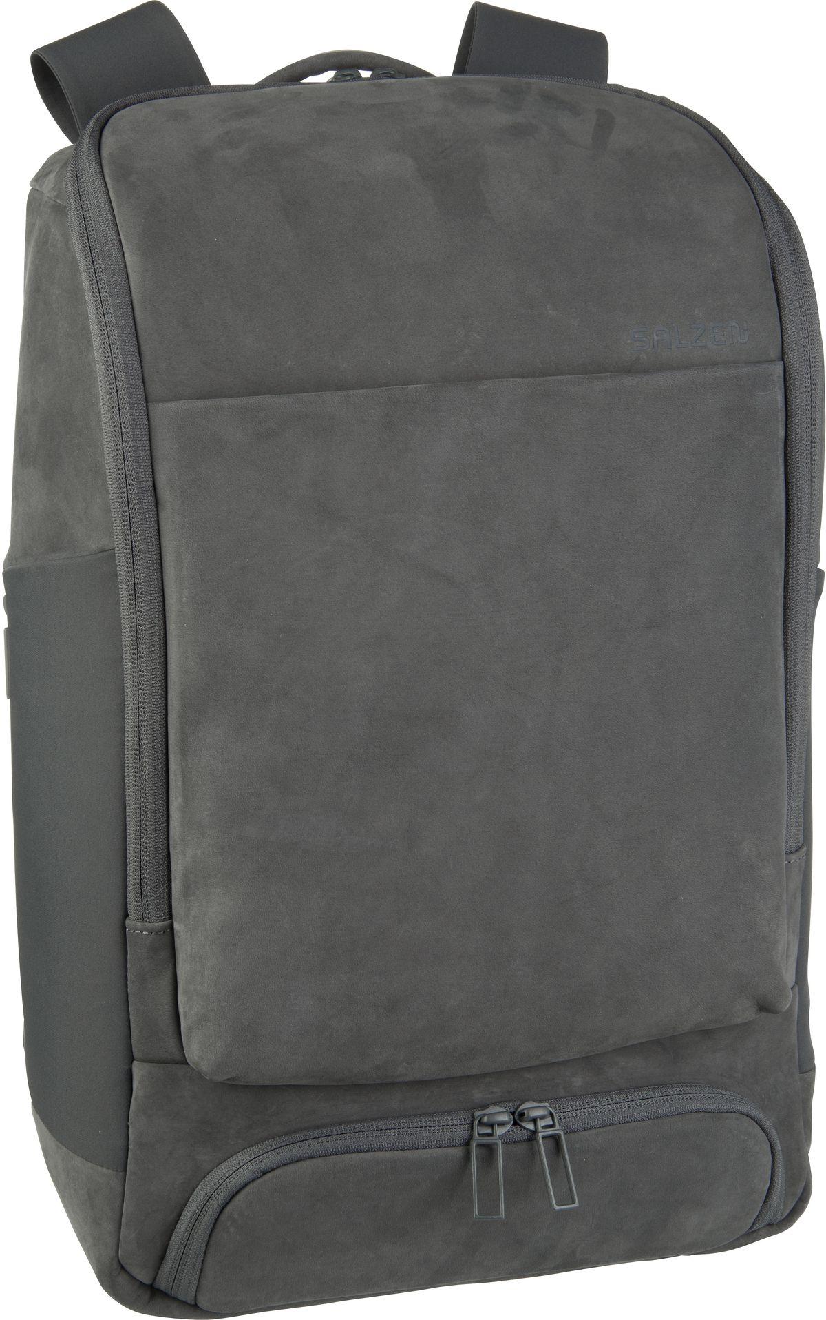 Laptoprucksack Alpha Backpack Leather Slate Grey (17 Liter)