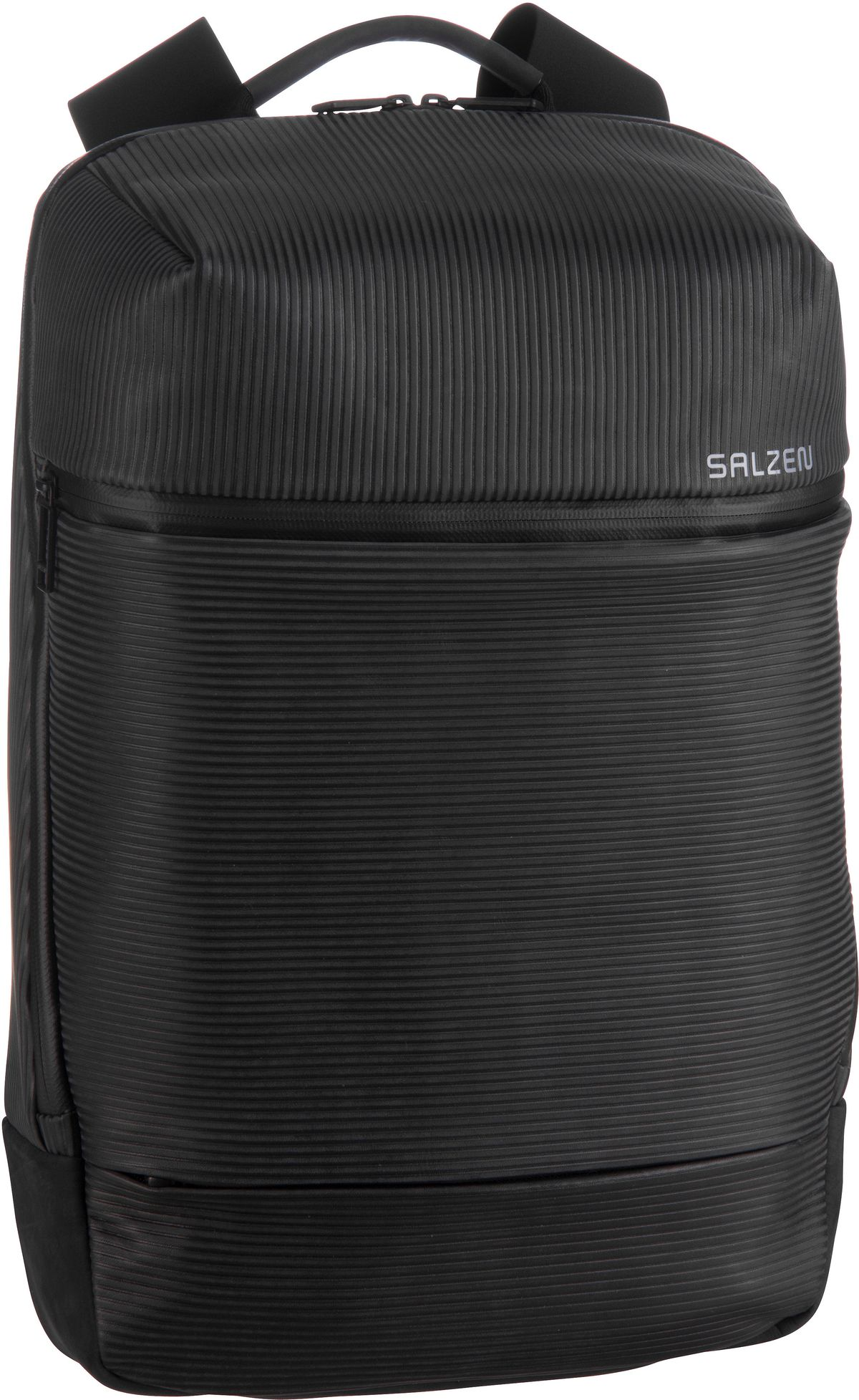 Laptoprucksack Savvy Leather Aligned Smoke (15 Liter)