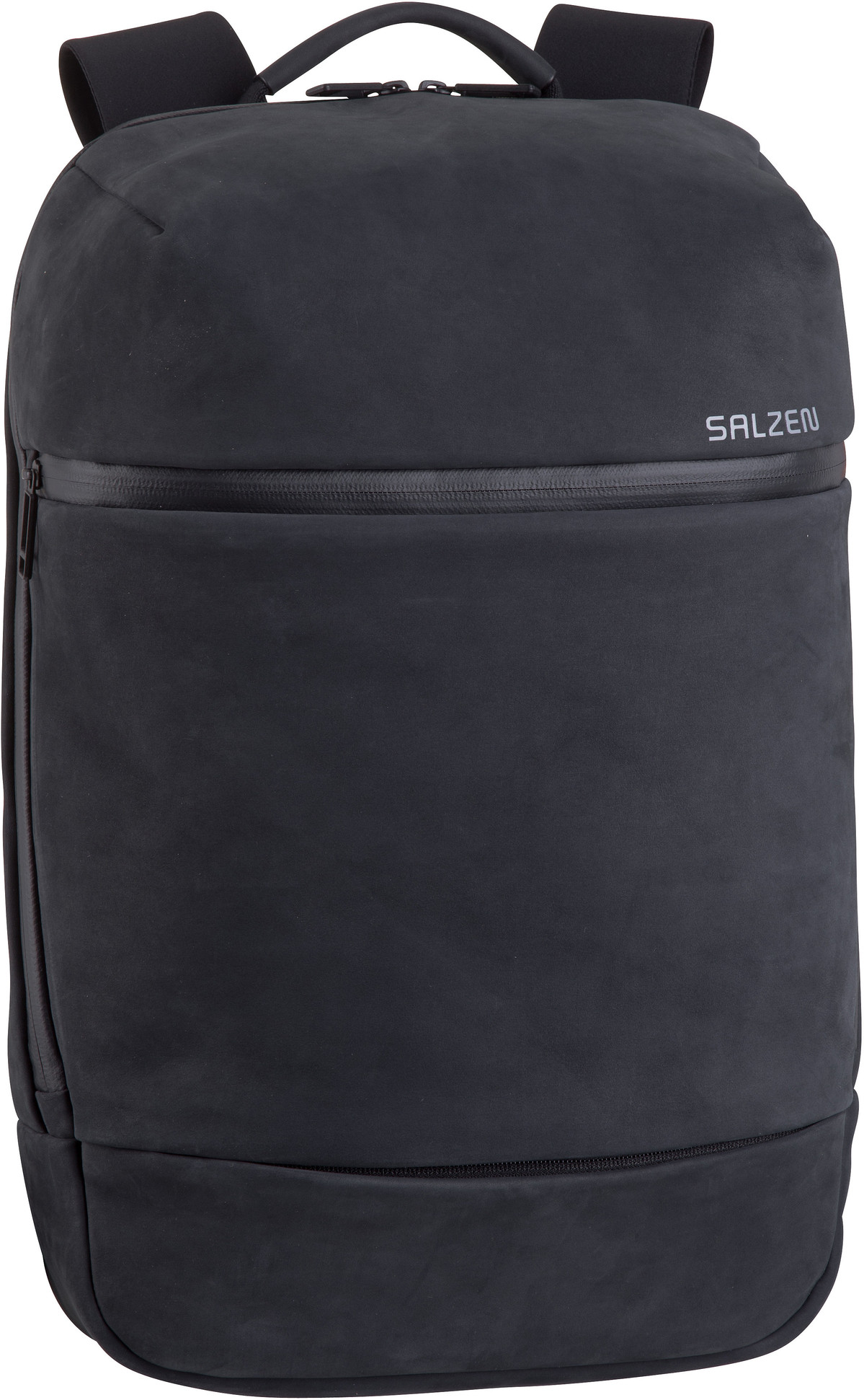 Laptoprucksack Savvy Leather Charcoal Black (15 Liter)