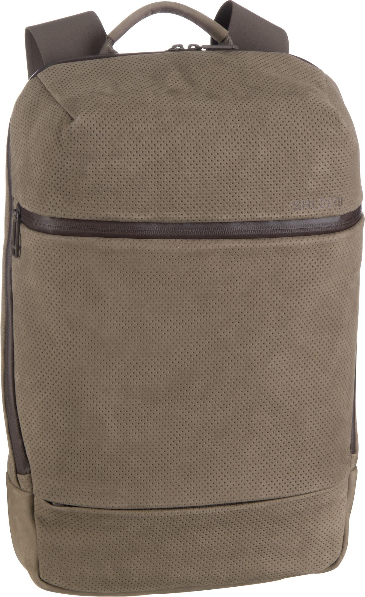 Laptoprucksack Savvy Leather Weims Taupe (15 Liter)